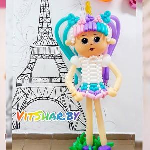 Кукла ЛОЛ из шаров, 150см
