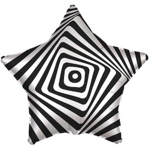 Р 18 Иллюзия черно-белая