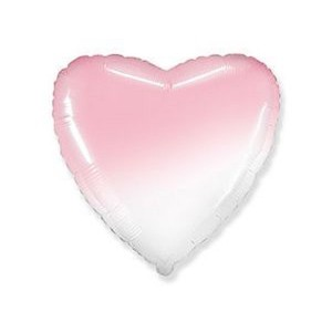 Ф Б/РИС 32 СЕРДЦЕ Градиент розовый