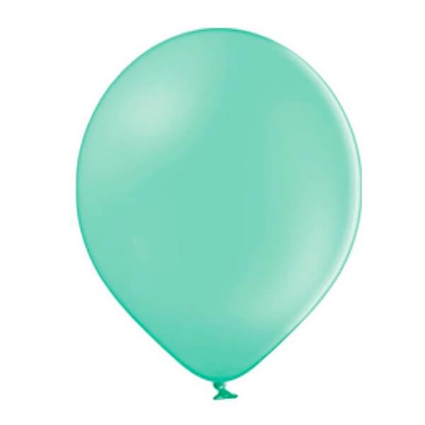 """Латексный шар Пастель Экстра Light Green 25см 10"""" (Зеленый)"""