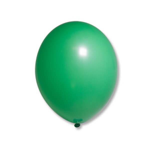 """Латексный шар Пастель Экстра Bright Green 25см 10"""" (Зеленый)"""