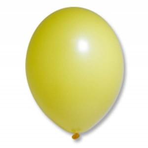 "Латексный шар Пастель Экстра Bright Yellow 25см 10"" (Желтый)"