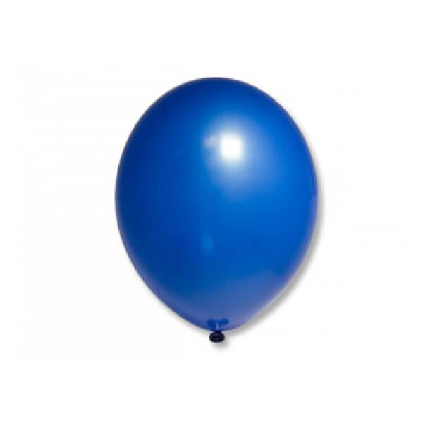 """Латексный шар Пастель Экстра Royal Blue 25см 10"""" (Синий)"""