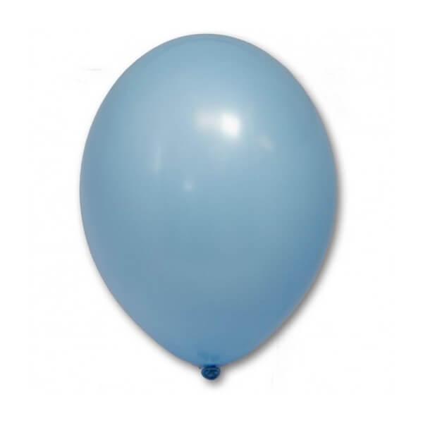 """Латексный шар Пастель Экстра Sky Blue 25см 10"""" (Голубой)"""
