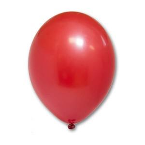 """Латексный шар Пастель Экстра Red 25см 10"""" (Красный)"""
