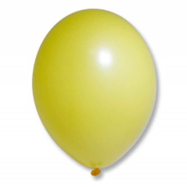 "Латексный шар Пастель Экстра Bright Yellow 30см 12"" (Желтый)"