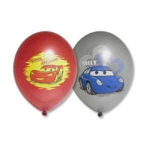 """Латексный шар с рисунком 30см 12"""" (Disney Тачки)"""