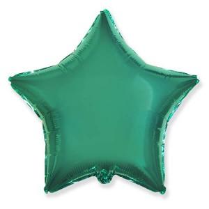 Фольгированный шар Звезда 45 см (Тиффани)