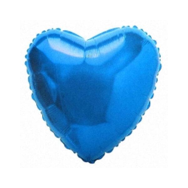 Фольгированный шар Сердце 81 см (Синий)
