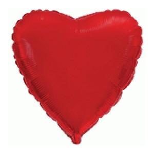Фольгированный шар Сердце 81 см (Красный)