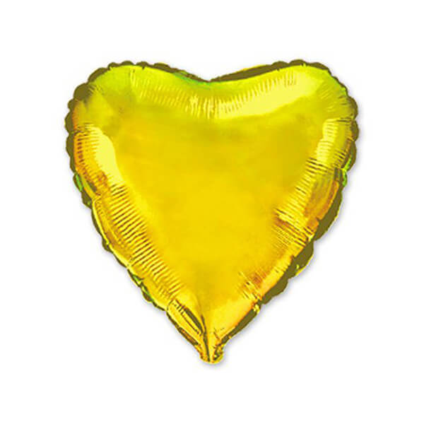 Фольгированный шар Сердце 81 см (Золото)