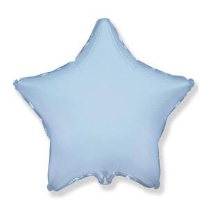Фольгированный шар Звезда 81 см (Голубой)