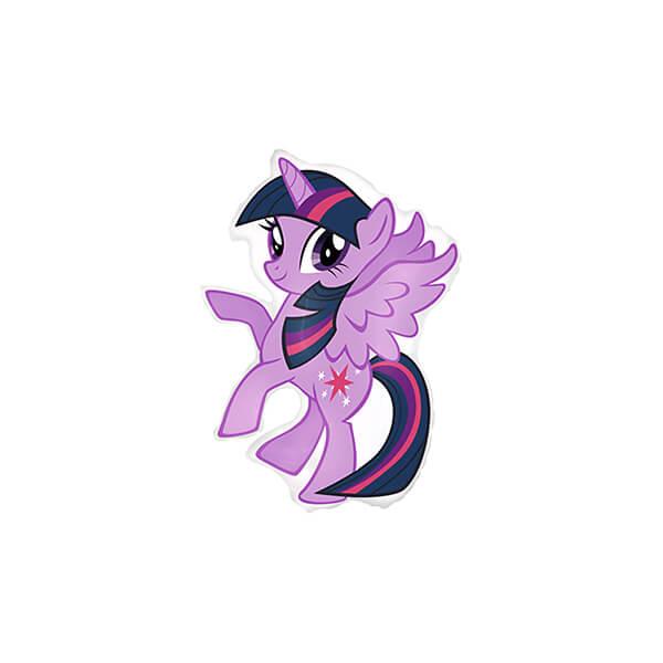 Фольгированный шар 86 см My Little Pony (Сиреневый)