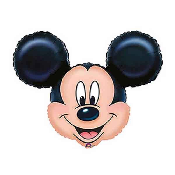 Фольгированный шар Микки (Черный)