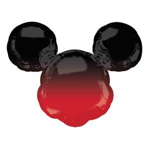 Фольгированный шар Микки Маус (Омбре)