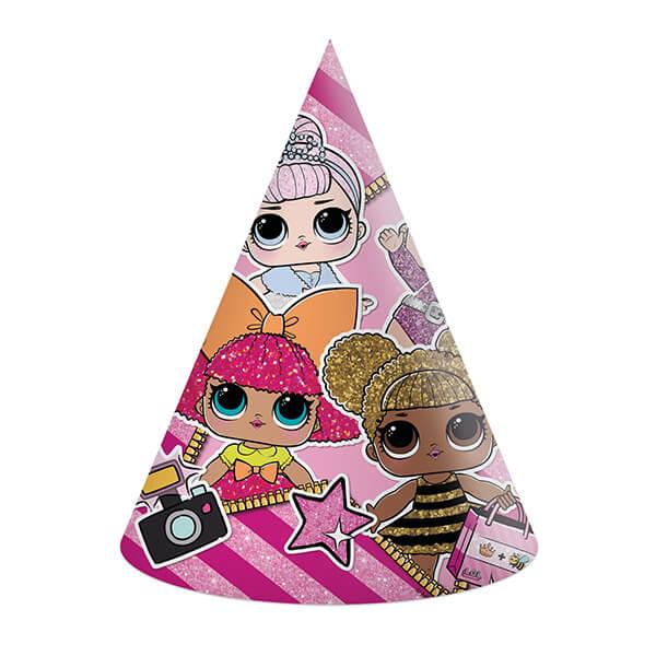 Колпак Куклы Lol 6 шт (Розовый)