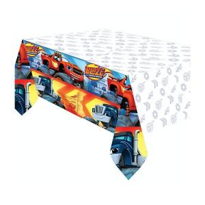 Скатерть п/э Вспыш 120х180 см (Синий)
