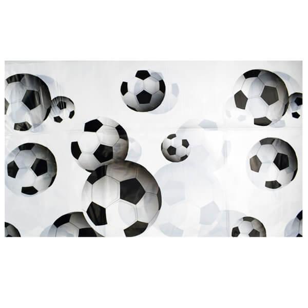 Скатерть 140х180 см Футбол (Белый)