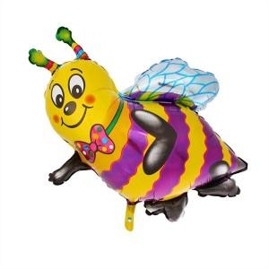 FM Фигура гр.3 И-30 Пчелка 97см X 80см шар фольга