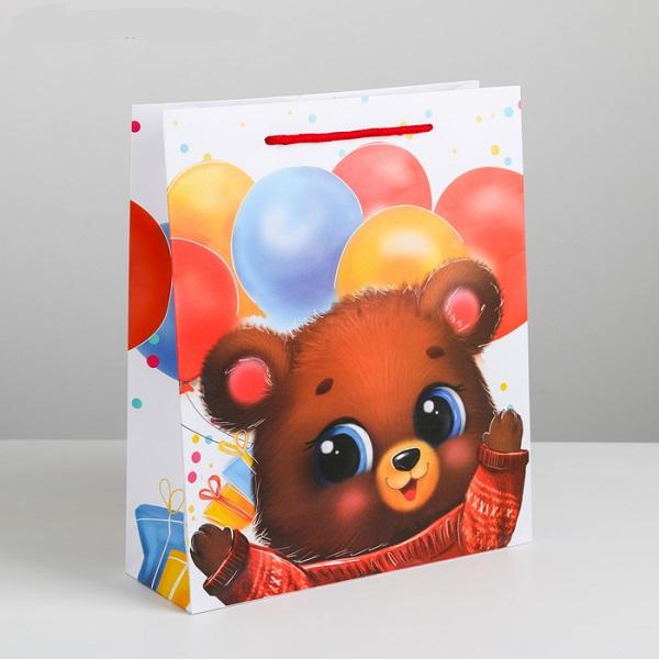Пакет ламинированный вертикальный «Самому сладкому», MS 18 × 23 × 8 см