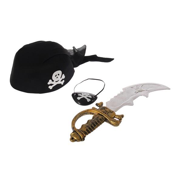 Набор пирата «Корсар», 4 предмета