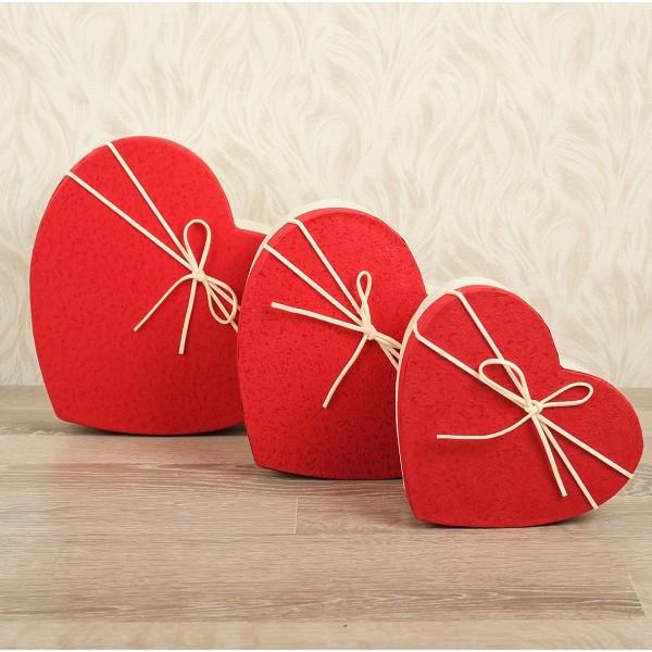 Коробка Сердце 19 х 17 х 5 см