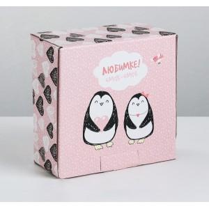 Наша разработкаОптБери в рассрочку Коробка‒пенал «Любимке», 15 × 15 × 7 см
