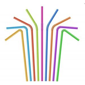 BA Трубочки для коктейля ассорти 50шт