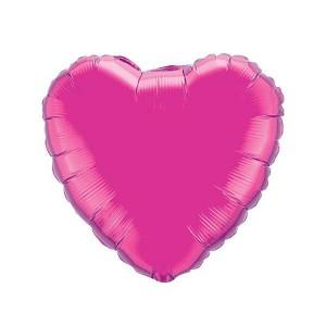 Фольгированный шар Сердце 81 см (Фуше)